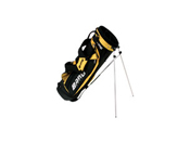 Bang Carry Stand Bag Black/Yellow, Dual Strap